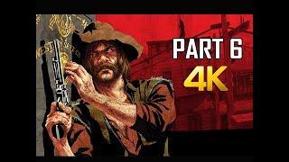 RED DEAD REDEMPTION Gameplay Walkthrough Part 6 - Treasure (4K Xbox One X Enhanced)