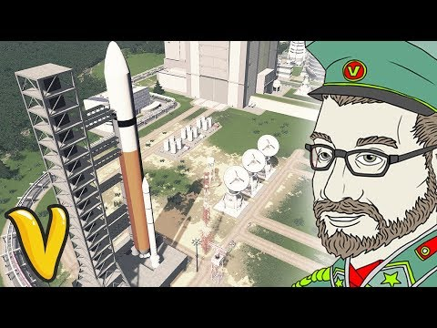 SPACE CENTRE!! Cities: Skylines Building Vladistan #13