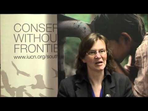 Interview with Barbel Vogel at IUCN European Conservation Forum 2011