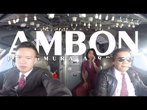 Cockpit View - CGK - AMBON - CGK