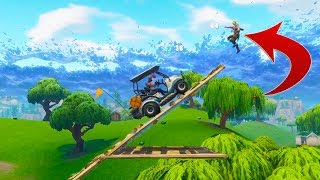 GOLF KART RACING! Fortnite Random & Funny Moments! #20