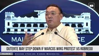 Duterte may step down if Marcos wins protest vs Robredo thumbnail