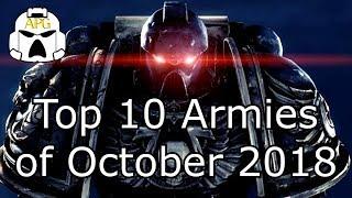 Top 10 Warhammer 40k Armies of October