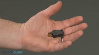 Whirlpool Microwave Oven/Hood Combo Upper Left Door Switch Replacement W10727360