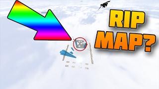 DESTROY THE WHOLE SKYWARS MAP CHALLENGE! (Minecraft SKYWARS)
