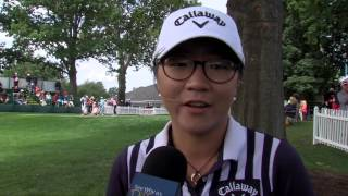 Lydia Ko with a 3-under second round keeping her in contention at the Wegmans LPGA Championship