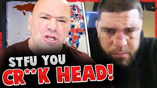 Dana White GOES OFF! Nick Diaz REACTS to getting TKO'd! Brian Ortega asks fans to PRAY FOR HIM!