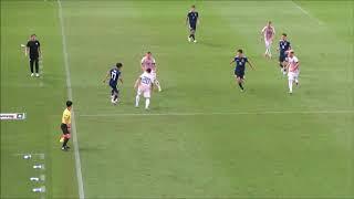 パラグアイ代表を翻弄する久保建英選手のプレー サッカー日本代表xパラグアイ代表(2-0)