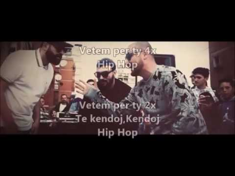 MC Kresha & Lyrical Son Feat  Ledri Vula  -  Hip Hop  Me tekst (Lyrics) 2016