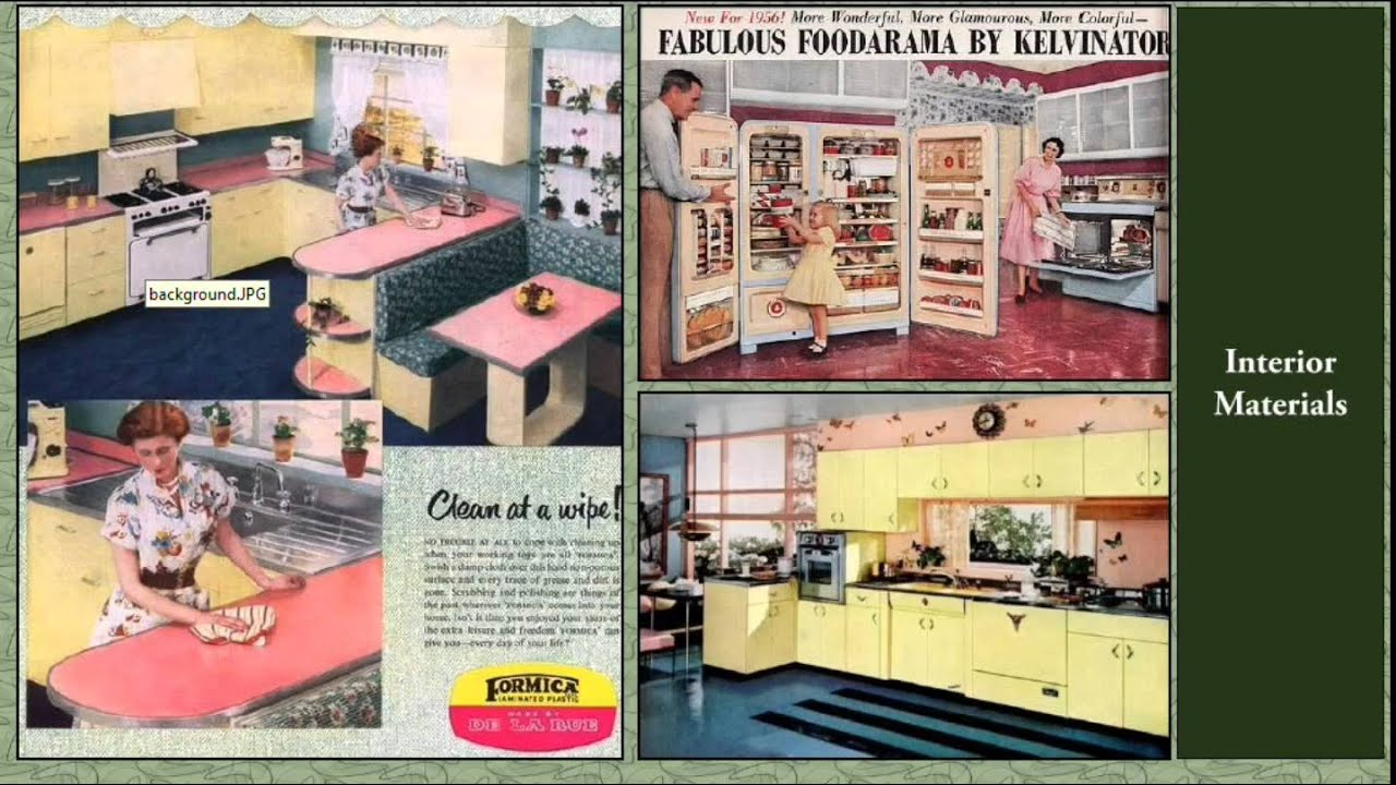 1950s Ranch House Colors
