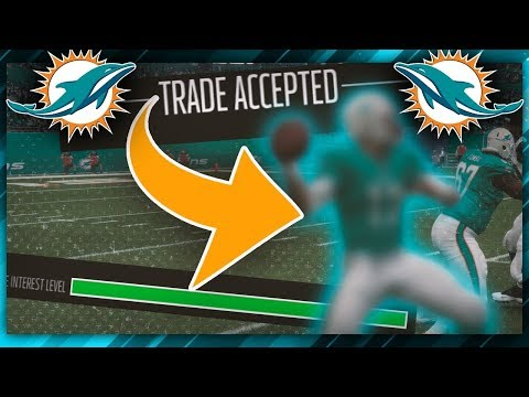 HUGE QUARTERBACK TRADE! (Madden NFL Franchise)