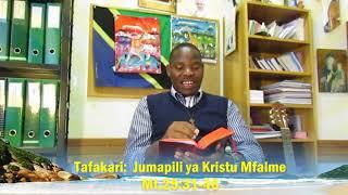 Tafakari Jumapili Sikukuu Ya  Kristu Mfalme
