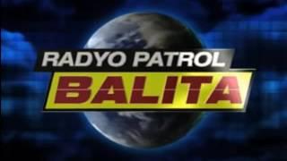 Radyo Patrol Balita Old Bumper
