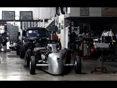 """Our Racing Heroes """"Evolution of the Flathead Motor"""""""