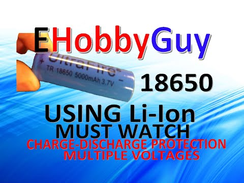 Li ion Battery Must Watch, Charge and Discharge Protection, Multiple Voltages