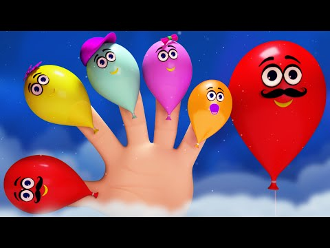 Finger Family Song | 3D Nursery Rhymes | Learning Videos For Kids