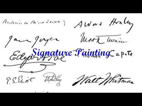 Quick Tip 147 - Signature Painting