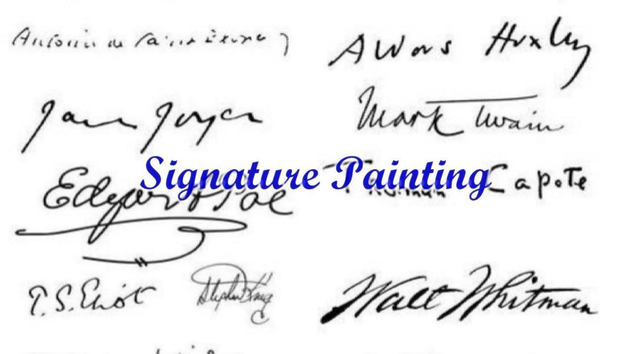 Quick Tip 147 Signature Painting