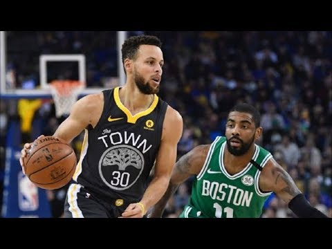 Stephen Curry 49 Points vs Kyrie Irving 37 Points! Celtics vs Warriors 2017-18 Season