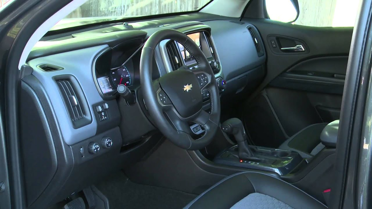 2016 Chevrolet Colorado Trail Boss Duramax Diesel Interior Design