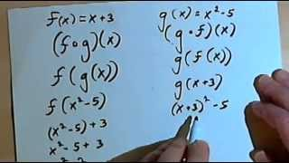 The Composition of Two Functions 143-2.6.2.a