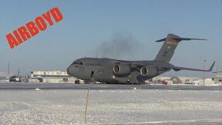 C-17 Airdrop Operations Deadhorse, Alaska