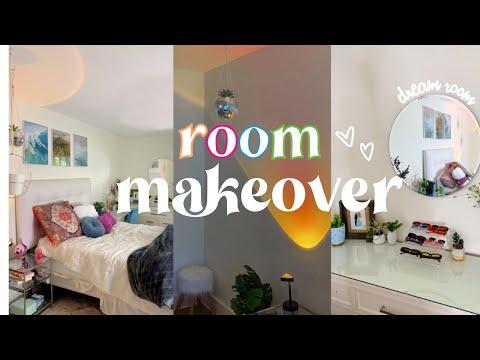 EXTREME ROOM MAKEOVER 2021 *aesthetic/tiktok/pinterest Inspired*