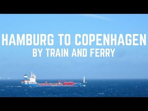 Hamburg to Copenhagen by Train and Ferry