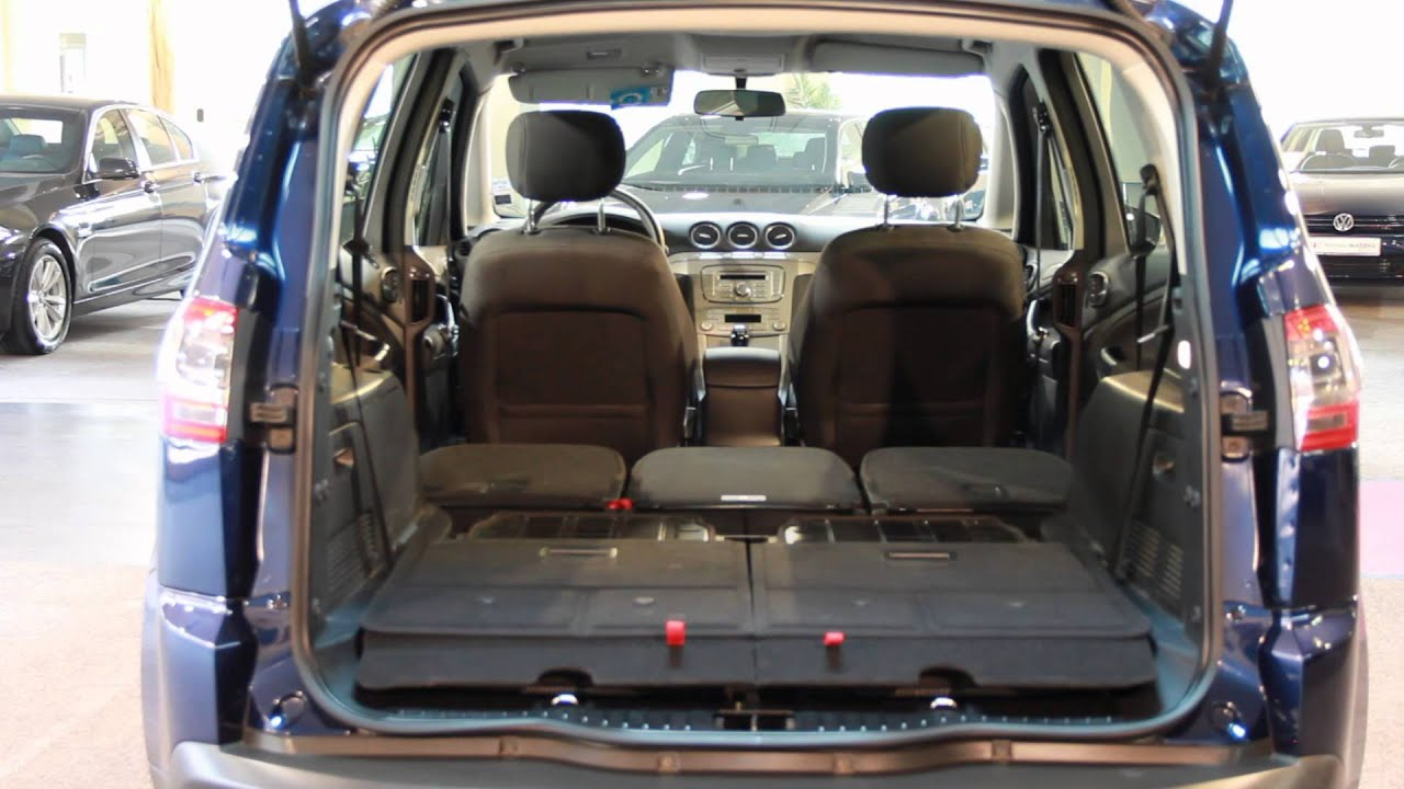 ford s max atlantikblau 7 sitzer 2012 youtube. Black Bedroom Furniture Sets. Home Design Ideas