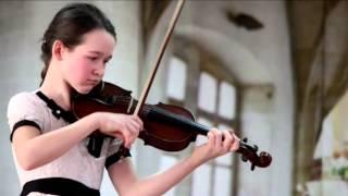 Friedrich Seitz Concerto No 3 part 2 3 - Evelina Kurinna. Ф. Зейц Концерт №3 2-3 ч.