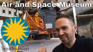 Exploring the Smithsonian National Air and Space Museum | Σνlogν Science Vlogs