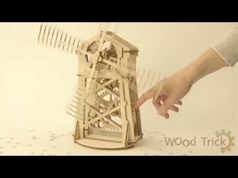 """Wood trick. Review of model """"Mill"""""""