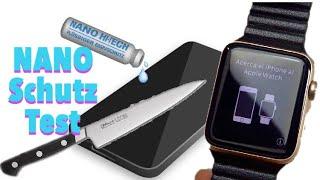 Flüssiger NANO Display Schutz für meine APPLE Watch + Härtetest - Hot oder Schrott ??