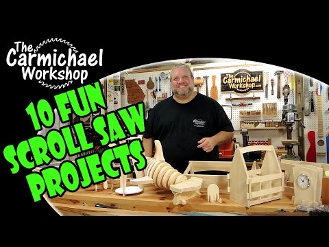 10 Fun Scroll Saw Woodworking Projects
