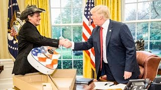 Man Who Threatened To Kill Obama Meets With Trump In The Oval Office