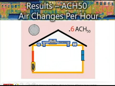 Passive House Testing with Kevin Brennan of the Passive House Academy (Sept, 9 2015)