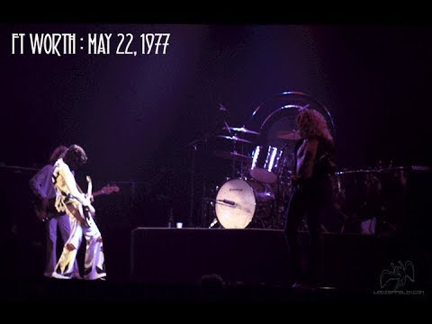 Led Zeppelin Live in Fort Worth 1977 REMASTERED [REUPLOAD]
