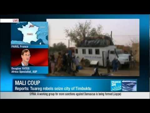 Islamic tuareg militias seize Timbuktu in north Mali Azawad