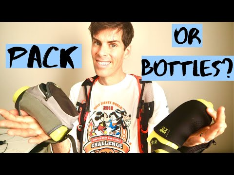 Should you use a RUNNING hydration pack, carry bottles, or nothing on your ULTRA MARATHON?