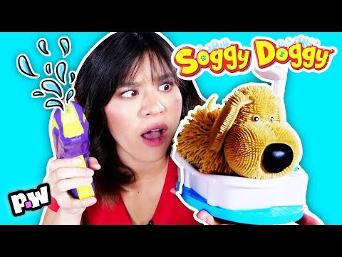 Soggy Doggy Challenge In Real Life!! ~ board games IRL ~ pocket.watch