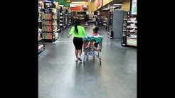 A quick Wal-Mart run for some groceries with Nina Ròtti and A'mia