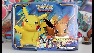 NEW 2018 Pikachu & Eevee Collector Chest!!!