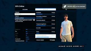 GTA V Online creando personaje