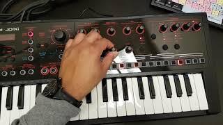 Roland JD XI Synthesizer Test