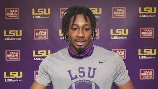 BJ Ojulari on LSU's DL: 'We want to create the juice ... we want everybody to feed off our energy.'