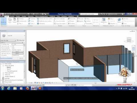 Capítulo 2 creación de rejilla y muros en Revit Arquitecture 2012