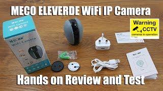 MECO ELEVERDE WiFi IP Camera 1…