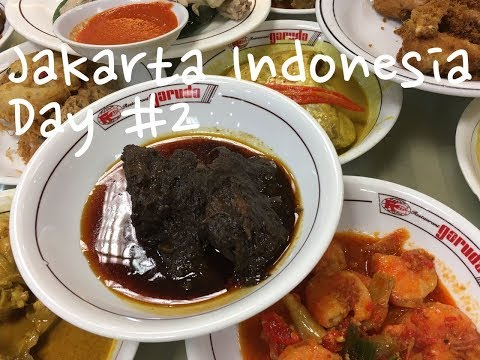Jakarta Indonesia - Food Travel Blog 2017 - Day #2 / Rendang