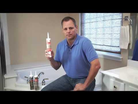 How-To Caulk Your Bathroom