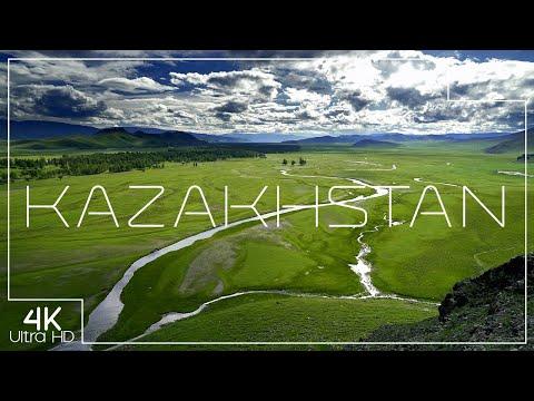 The nature of Kazakhstan   Natural wonders in 4K